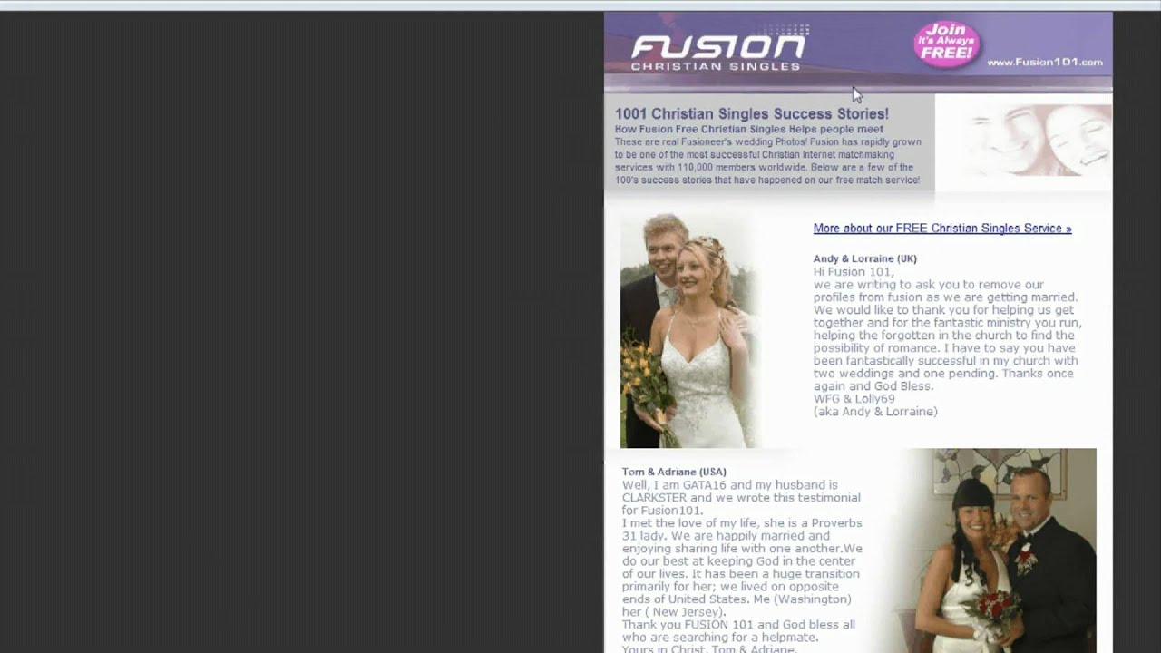 Free christian dating site in usa