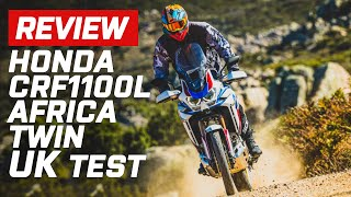 2020 Honda CRF1100L Africa Twin UK On and Offroad Test | Review | Visordown.com