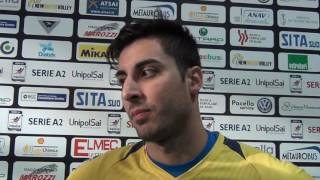 18-12-2016: #A2MVolley - Mario Ferraro post New Mater - Santa Croce