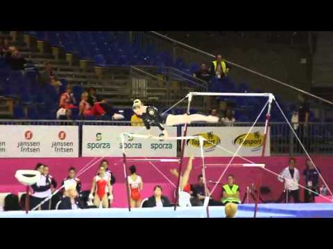 Nastassia MARACHKOUSKAYA BLR, Bars Senior Qualification, European Gymnastics Championships 2012