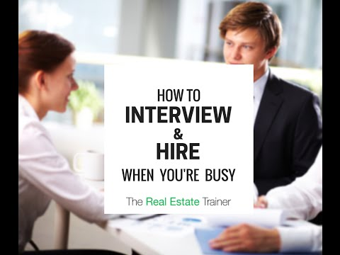 How to Recruit & Interview When You're Already Too Busy