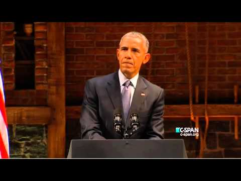 Obama Ribs The Republican Candidates