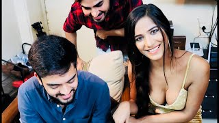 Teaching Poonam Pandey Jaat Language In Mumbai !