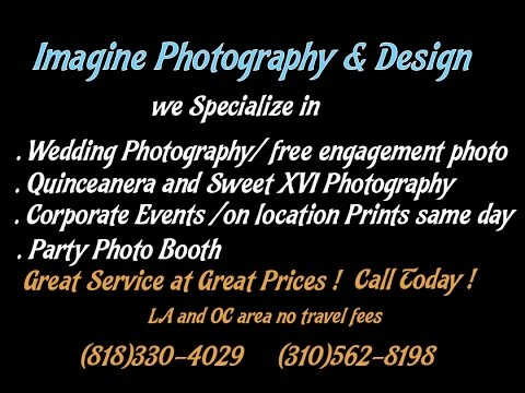 best event photo booth and |wedding photographer in Los angeles (818)330-4029
