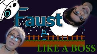 """MY FIRST RAGE QUIT AND CLICKBAIT IN A VIDEO   Faust """"Like a Boss"""" Mode feat. Jam andToast"""