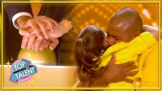 GOLDEN BUZZER | ADORABLE Father and Daughter Dance on Spain's Got Talent 2021! | Top Talent