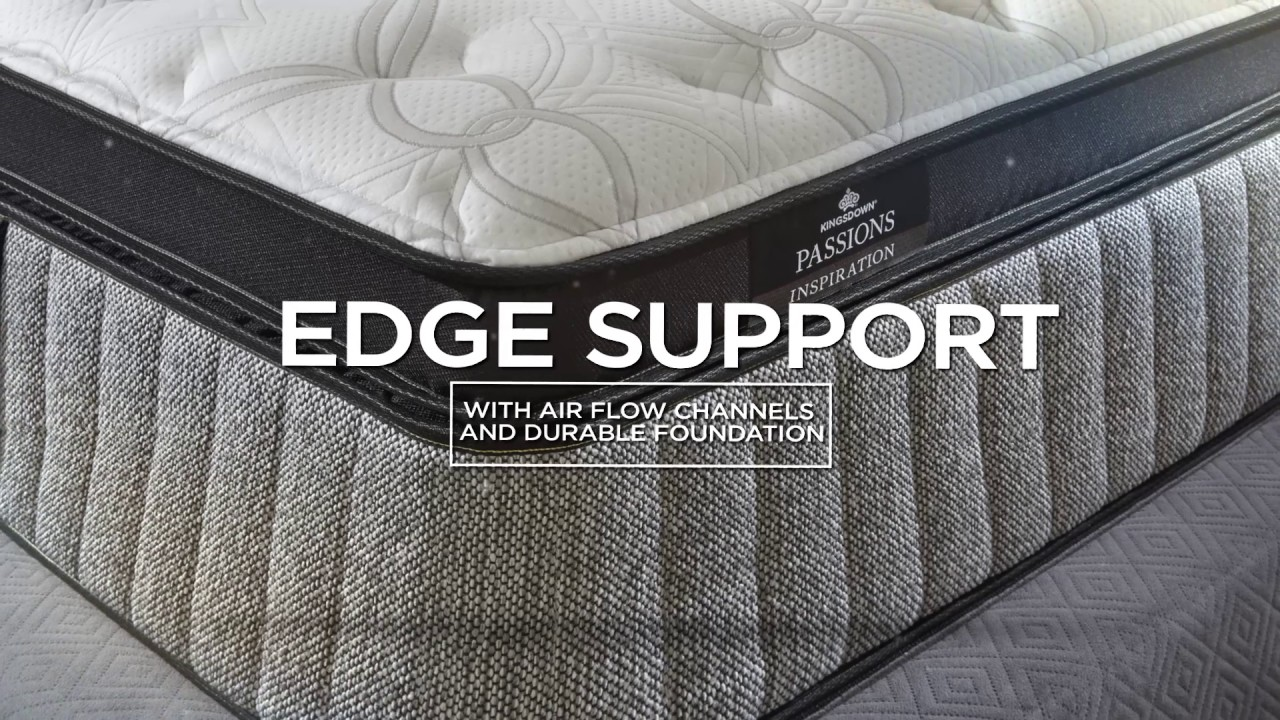 Kingsdown Mattress Product Tour Passions Collection