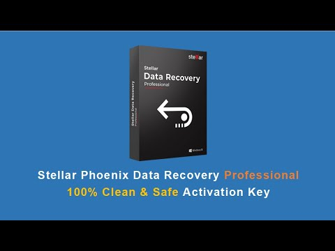 Stellar Data Recovery Professional Activation Key - Official Key | No Crack | 2019