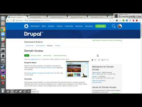 Domain Access Integration With Drupal 8 – Devs At Home
