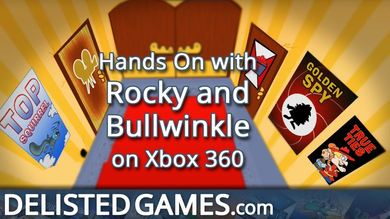 Rocky and Bullwinkle - Xbox 360 (Delisted Games Hands On)
