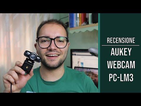Aukey Webcam 1080p PC-LM3: la recensione