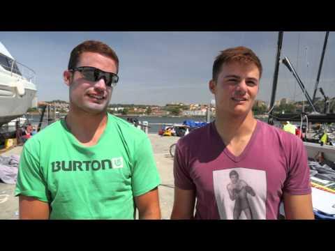 2015 European Championship - Day 2 - Interview: Diego Botin & Iago Lopez Marra