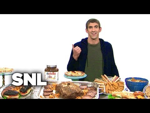Michael Phelps Diet - Saturday Night Live