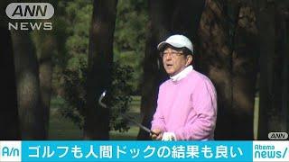 安倍総理 外遊前に趣味のゴルフで英気養う(18/11/11)