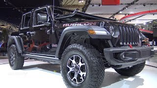 2018 Jeep Wrangler Rubicon Unlimited - Exterior And Interior Walkaround - 2018 Toronto Auto Show
