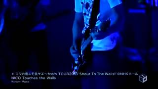 Nico Touches The Walls Niwaka Ame Nimo Makezu live