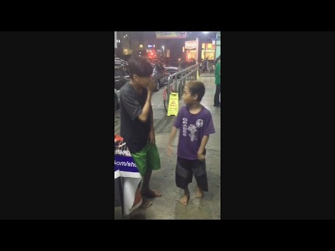 OMG!! HOMELESS KIDS - RAP & BEATBOXING -  ( MANGARAP KA )