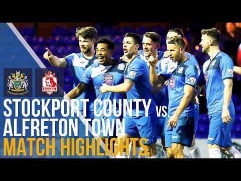 Stockport County Vs Alfreton Town - Match Highlights - 26.12.17