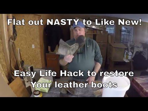 Life Hacks - LL Bean Duck Boot Restoration