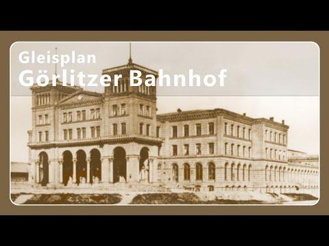 Gleisplan Görlitzer Bahnhof