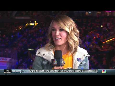 Carrie Underwood NHL Game 4 Interview