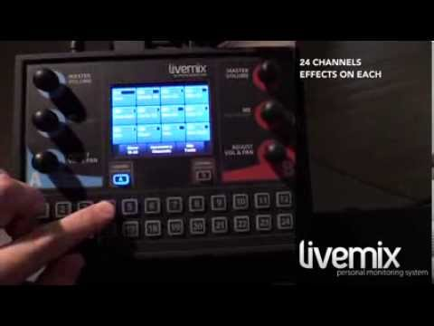 Livemix personal monitoring system at Freshwater in MN