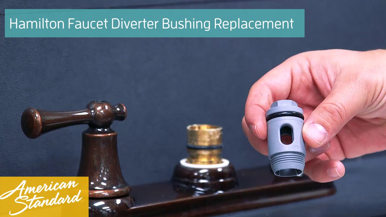 How to Replace a Diverter Bushing for your Hamilton Faucet - YouTube