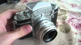 vintage-exa-exakta-and-praktiflex-fx-slr-cameras