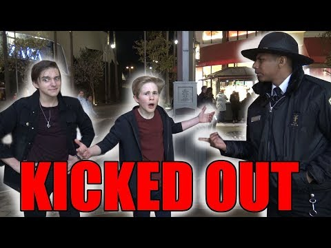 WE ALMOST GOT KICKED OUT OF THE GROVE!!!