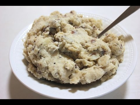 Slow Cooker Mashed Potatoes Recipe With Garlic: Crockpot Mashed Potatoes Recipe (Homemade)