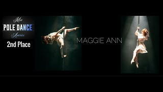 Miss Pole Dance America 2016 2nd Place Winner Maggie Ann