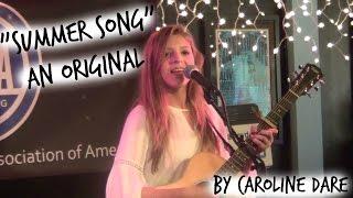 "The Bluebird Cafe ""Summer Song"" (Original) by Caroline Dare"