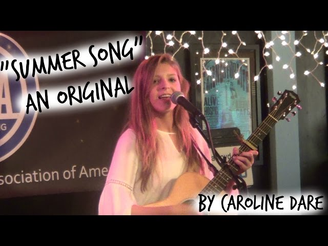 """Summer Song"" (Original) by Caroline Dare"