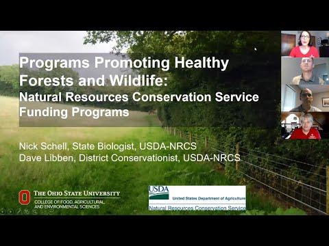 Natural Resources Conservation Service (NRCS) Funding Programs - May 29, 2020