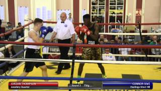 Haringey Box Cup QF - Jordan Thompson vs. Connor Sime