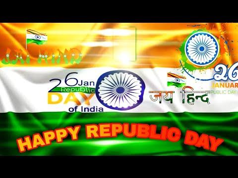 गणतंत्र दिवस कि शुभकामनाए   Happy 72nd republic day status video for whatsapp  