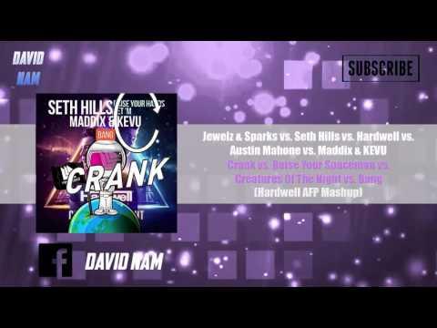 Crank vs. Raise Your Spaceman vs. Creatures Of The Night vs. Bang (Hardwell Mashup) [Remake]