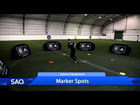 SAQ® Marker Spots Sports Equipment Product Promo Video (Speed, Agility, Quickness (SAQ®)