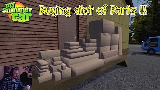 MY SUMMER CAR - LETS BUY EVERYTHING IN ONE GO !!!