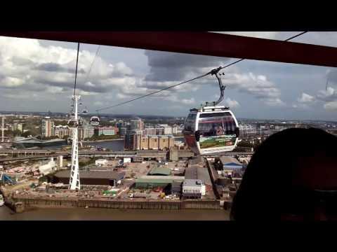 London cable car..