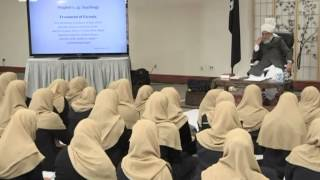Gulshan-e-Waqf-e-Nau Nasirat/Lajna USA - 7th May 2013