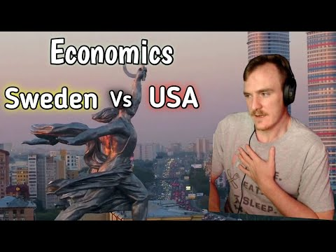 Sweden's Economy Is NOT Socialist - American Learns More About & Reacts To The Nordic Model