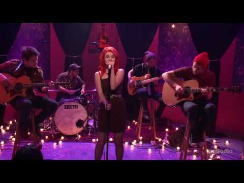Paramore - Brick by boring Brick (MTV Unplugged) HQ acoustic soundfile