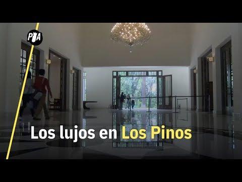 Los lujos en Los Pinos