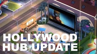 SimCity Build It Update - HOLLYWOOD HUB Turn your city into the home of the film industry!