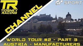 [GT Sport] - World Tour #2 - Austria - Salzburg Part 3 - Manufacturers Cup Analysis