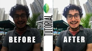 SUPER USEFUL SNAPSEED TRICK | HOW TO BRIGHTEN FACE WITHOUT AFFECTING THE BACKGROUND