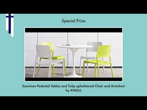 The BORN International Awards 2018 - Special Prize: Saarinen Pedestal Tables by KNOLL
