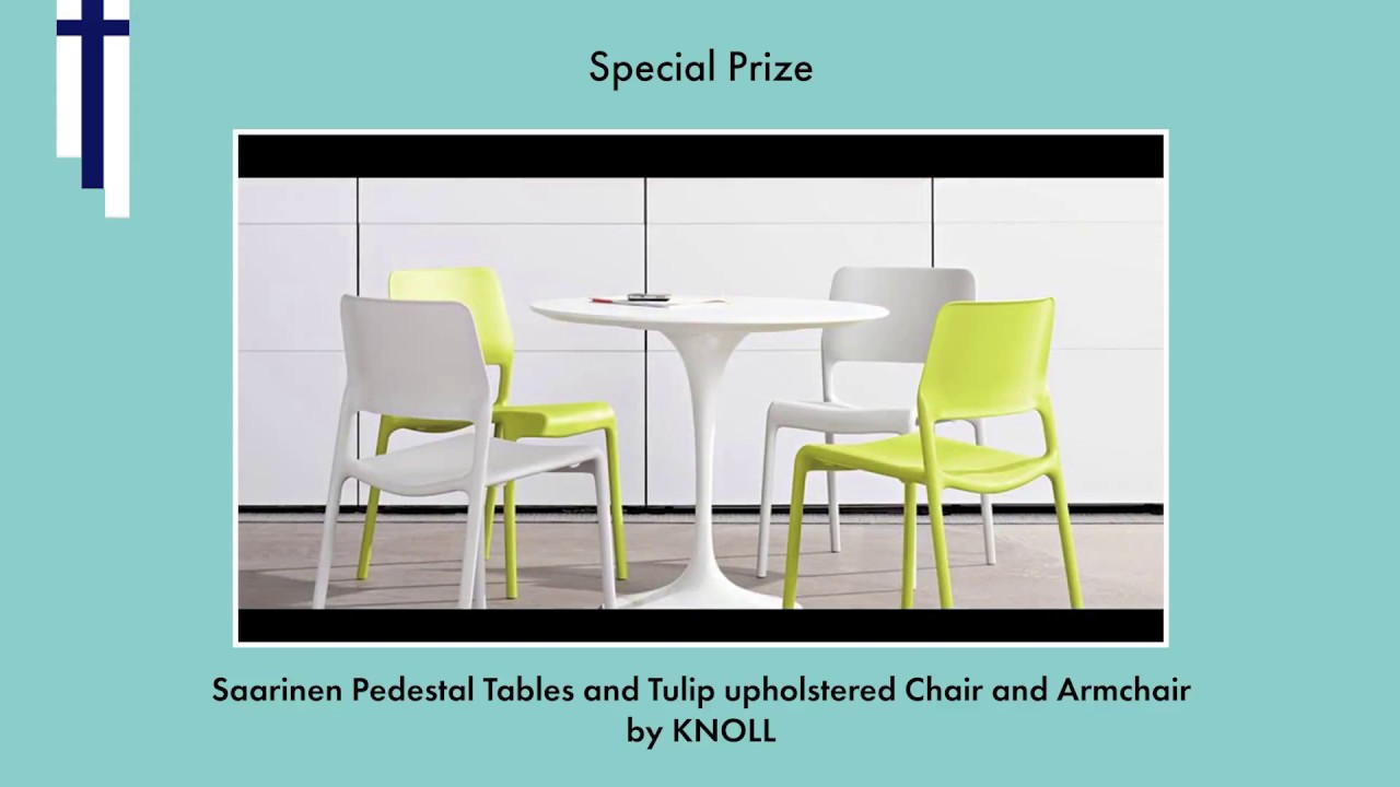 The BORN International Awards Special Prize Saarinen - Knoll pedestal table