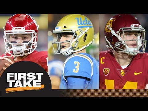 2018 NFL mock draft: First Take reacts to Todd McShay's top 10 | First Take | ESPN